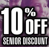 Discount to Senior for Car Windscreen Replacement